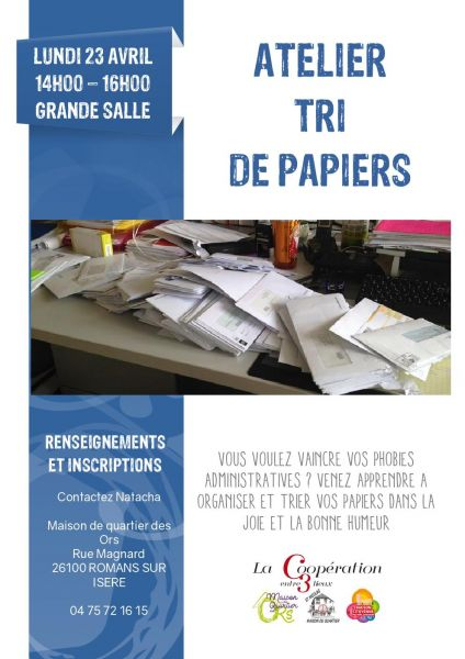 affiches atelier collectif tri 3