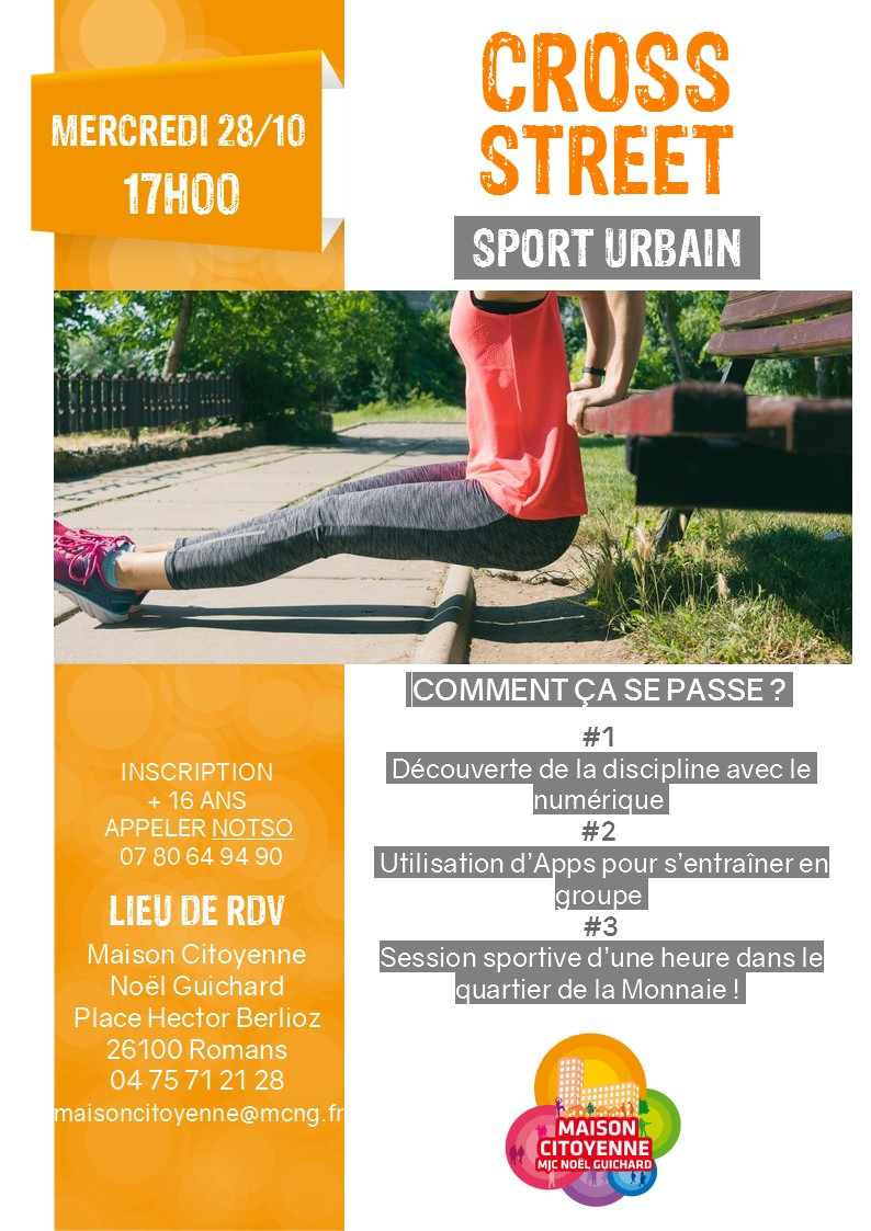 affiche Urban training2